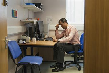 Heavy workload leaves 40% of GPs facing mental health problems including PTSD