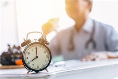 Available GP time per patient down 10% over past four years
