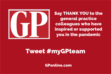 #myGPteam celebrates the outstanding work of GP teams across the UK