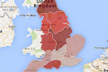 Map: Regional variation in GP trainee vacancies revealed