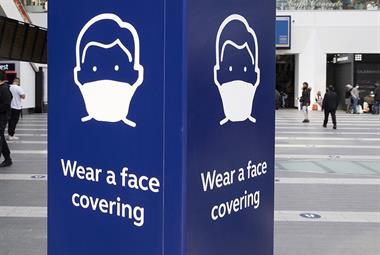 How to deal with patients who refuse to wear face coverings