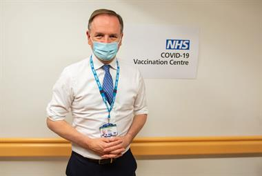 GPs to place orders for COVID-19 vaccine as NHS targets second dose at 12 weeks, says Stevens