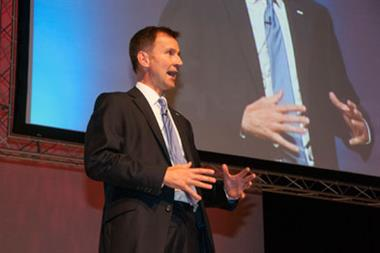 Hunt: I'll be most pro-GP health secretary in a generation