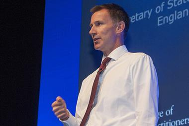 State-backed GP indemnity scheme could start from 2019, says Jeremy Hunt