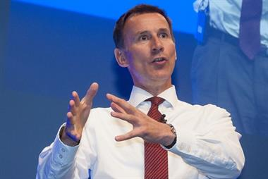 Jeremy Hunt appointed health and social care secretary in reshuffle