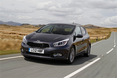Car review - Kia cee'd
