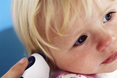 Assessing fever in children