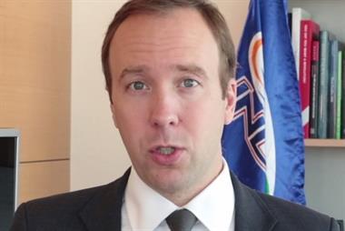 Video: Watch Matt Hancock's RCGP conference message in full