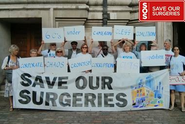 GPs take Save our Surgeries campaign to Downing Street