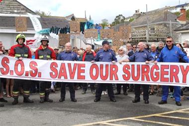 Practice saved in Cornish fishing village after patients' video campaign