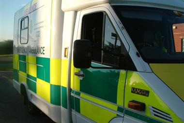 GPs in ambulances slash A&E admissions