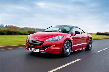 Car review: Peugeot RCZ-R coupe