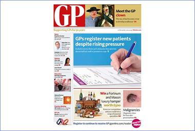 Your GP magazine preview - 10 November (LATEST): GP registration exclusive, FGM and GP clown