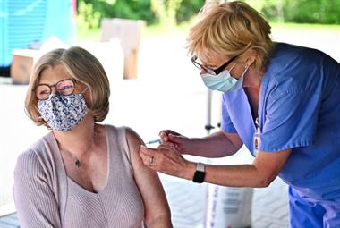 Vaccine drive boosts coverage in areas with highest rates of COVID-19