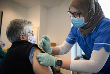 NHS sets out 'immediate' requirement to vaccinate all healthcare staff against COVID-19