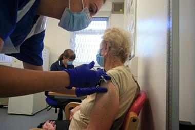 Fifth of over-80s have received COVID-19 booster jabs in England