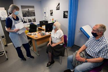 Tens of thousands of patients to receive COVID-19 jab at GP-led sites today