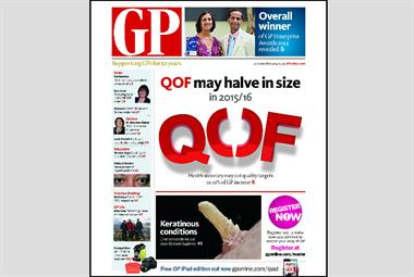 Your GP magazine preview - 29 September (LATEST) #RCGPAC #Lab14 #Con14