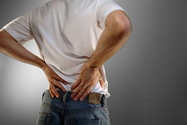 Back and neck pain has biggest health impact on UK patients, study finds