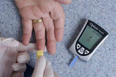 Diabetes affects one in 10 people in parts of England