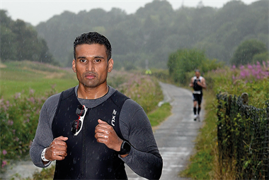 GPs running the London marathon for Arthritis Research UK