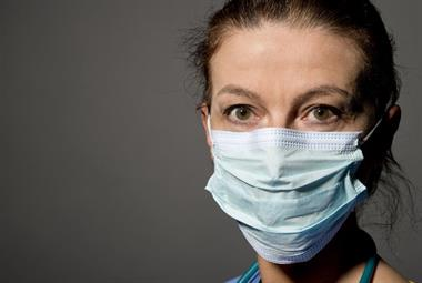 All practice staff recommended to wear surgical face masks