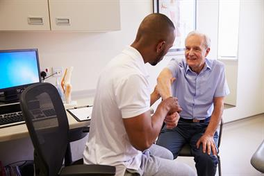 GP workload reduced as patients visit practice-based NHS physios