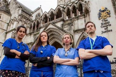 Junior doctors launch legal proceedings over imposed contract