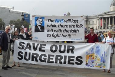 GPs under pressure: Local communities value general practice and are rallying to defend it