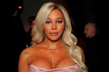 Munroe Bergdorf: model became L'Oréal's first transgender representative in 2017