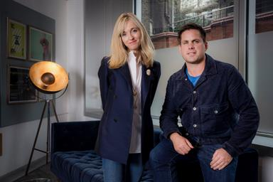 Sarah Golding and new creative chief Toby Allen