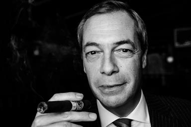 Nigel Farage exclusive: 'Advertising? I might fancy it myself one day'