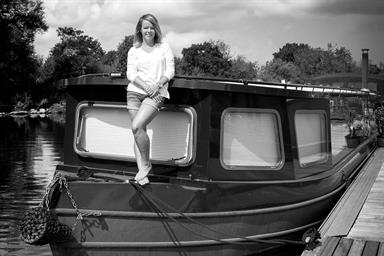 I made this: Life on Karen Boswell's houseboat