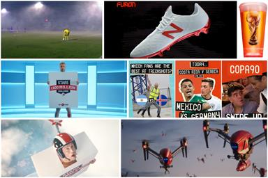 The Sun, Budweiser, Snapchat: even more World Cup brand action