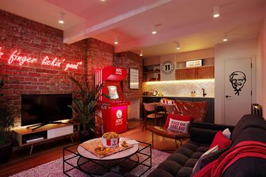 KFC opens fried chicken-themed hotel pop-up 'House of Harland'