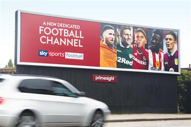 Sky calls £400m media review