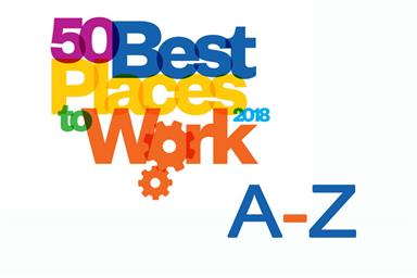 Best Places to Work 2018: A-Z