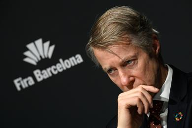 GSMA director general Mats Granryd announced the cancellation in Barcelona.
