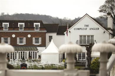 The Compleat Angler in Marlow, Buckinghamshire