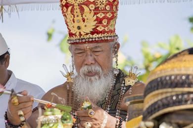A shaman in Bali (Image credit: iStock)