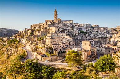 Basilicata in southern Italy