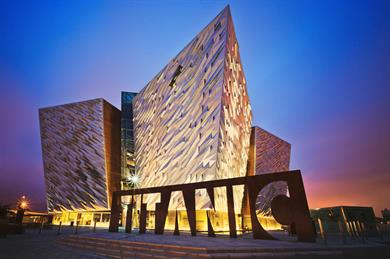 The Titanic Centre, Belfast