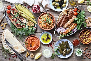 Levantine cuisine includes the food of Lebanon