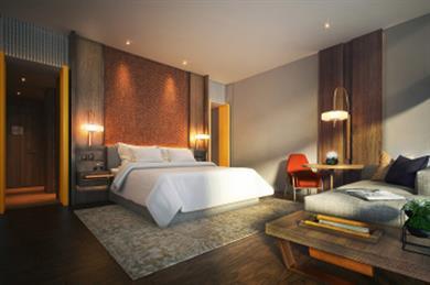 Andaz Singapore guestroom