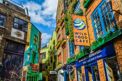 Neal's Yard in Covent Garden