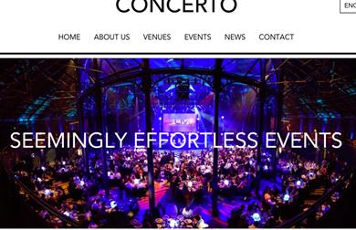 Concerto Group website