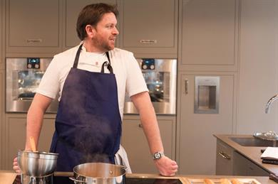 Treat your delegates to dinner with James Martin