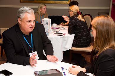 Kurt Miller (L) at the C&IT US Forum