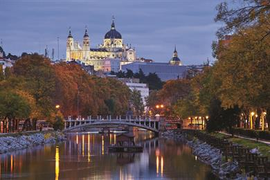 Madrid's Royal Palace and Cathedral