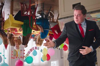 Barclaycard follows Crystal Barn with visit to Upside Down House